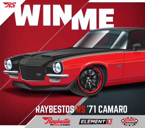 Example of Raybesto's win me advertisement
